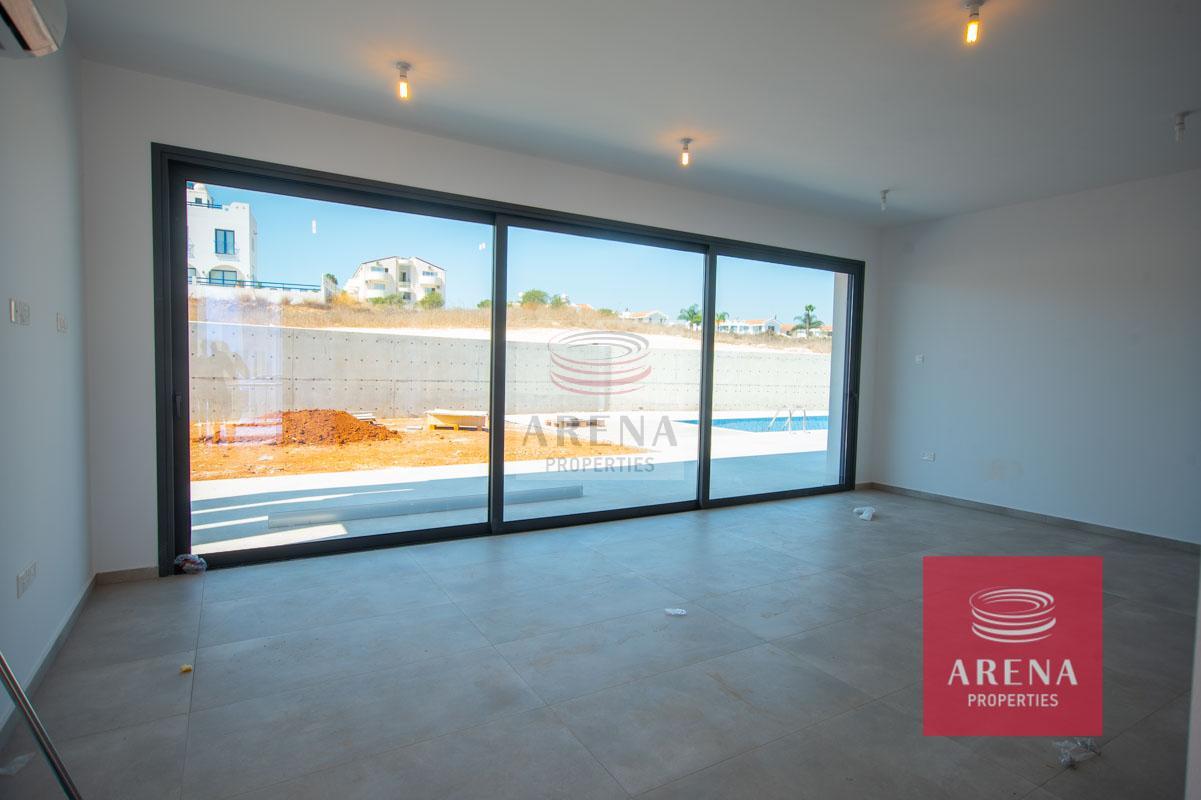 New Villa in Protaras - living area