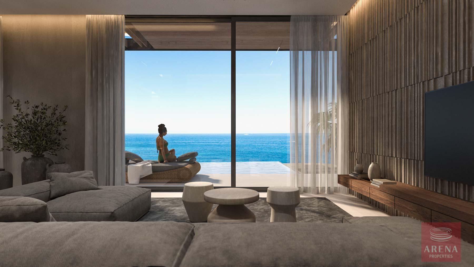 4 Bed Seafron Villa in Kapparis - sitting area
