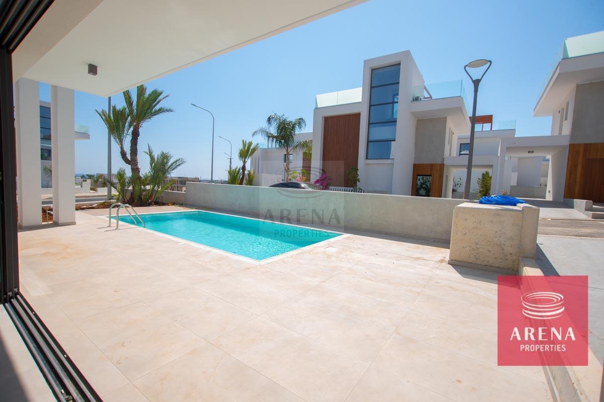Modern Villa in Protaras - outside area