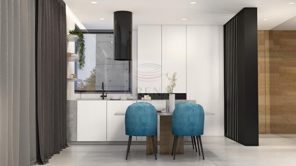 New 3 bed apt in Larnaca for sale - kitchen
