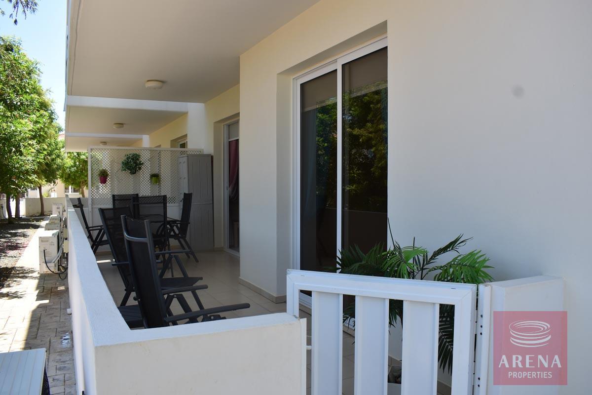 Resale apt in Kapparis for sale - veranda