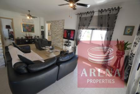 Ayia Napa property - living area