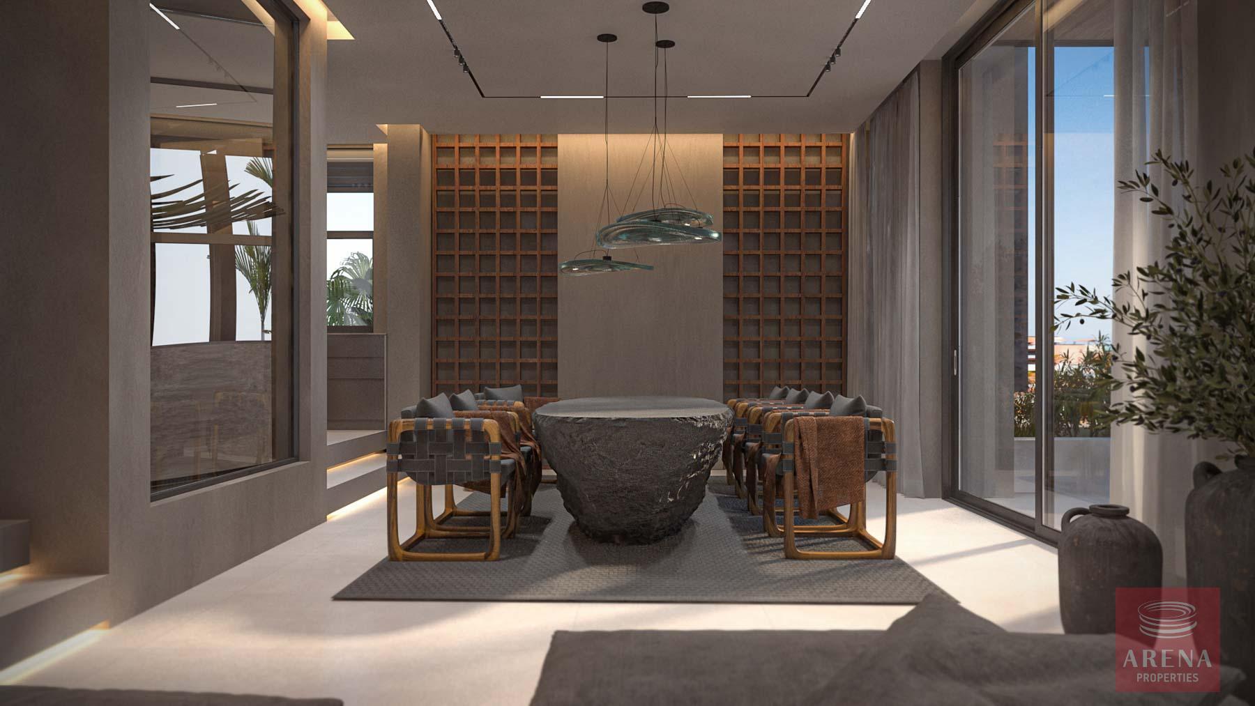 4 Bed Seafron Villa in Kapparis - dining area