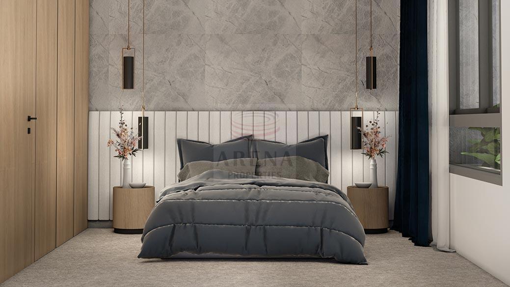 New 3 bed apt in Larnaca - bedroom