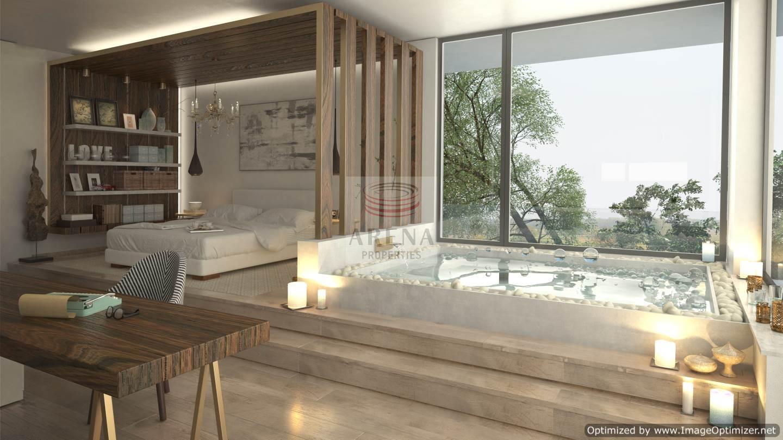 5 Bed villa in Ayia Napa - bathroom