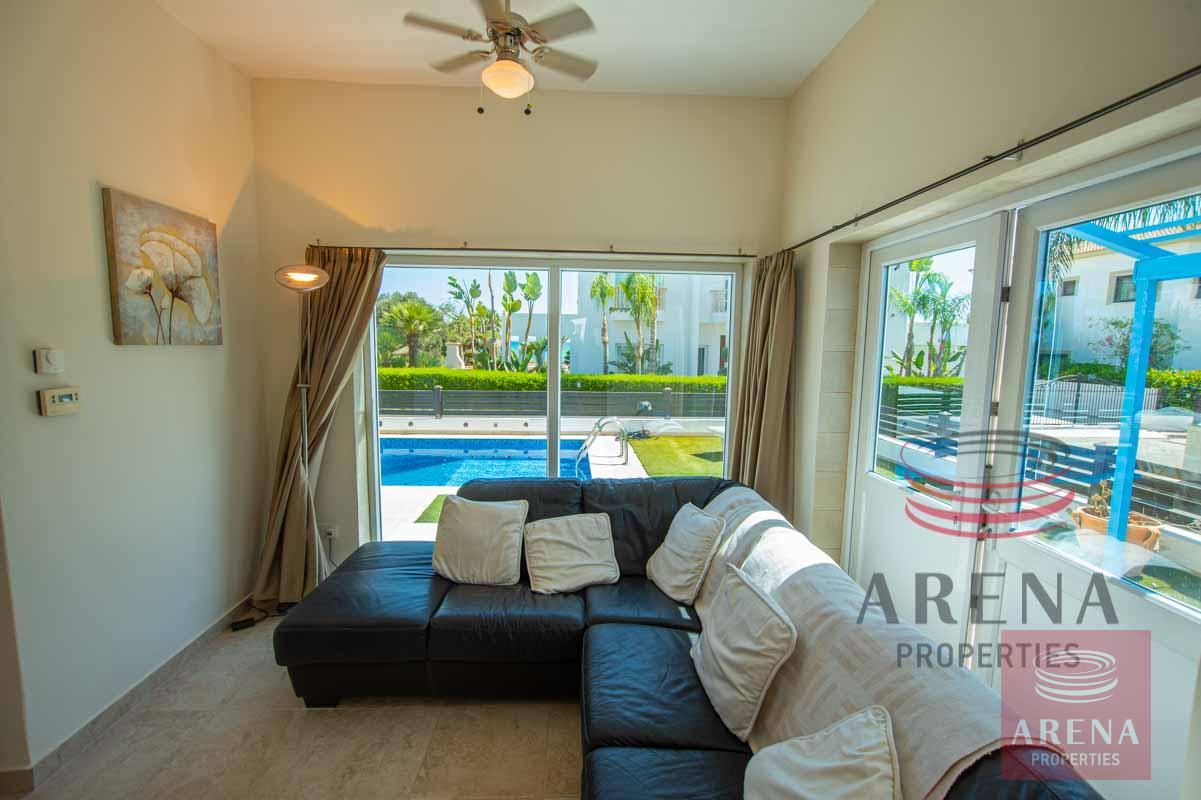 2 Bedroom Villa in Ayia Thekla - sitting area