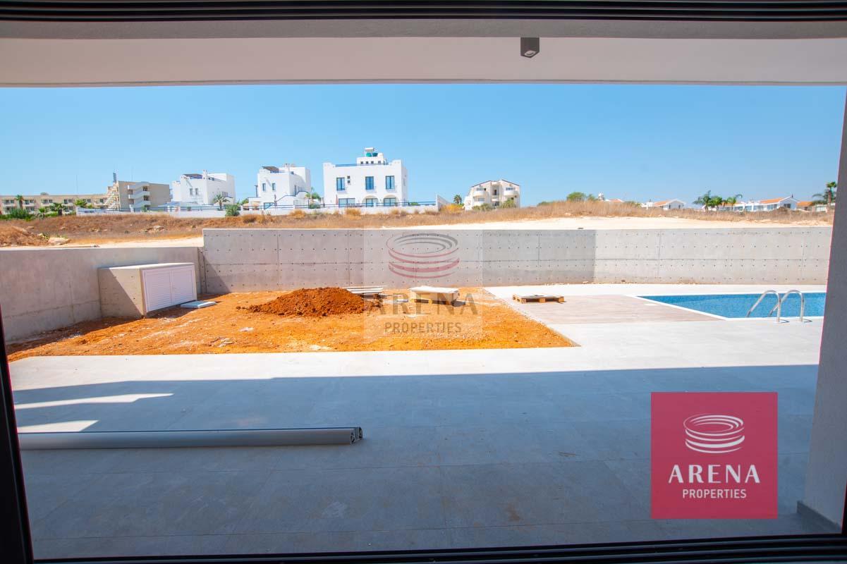 New Villa in Protaras - outside area
