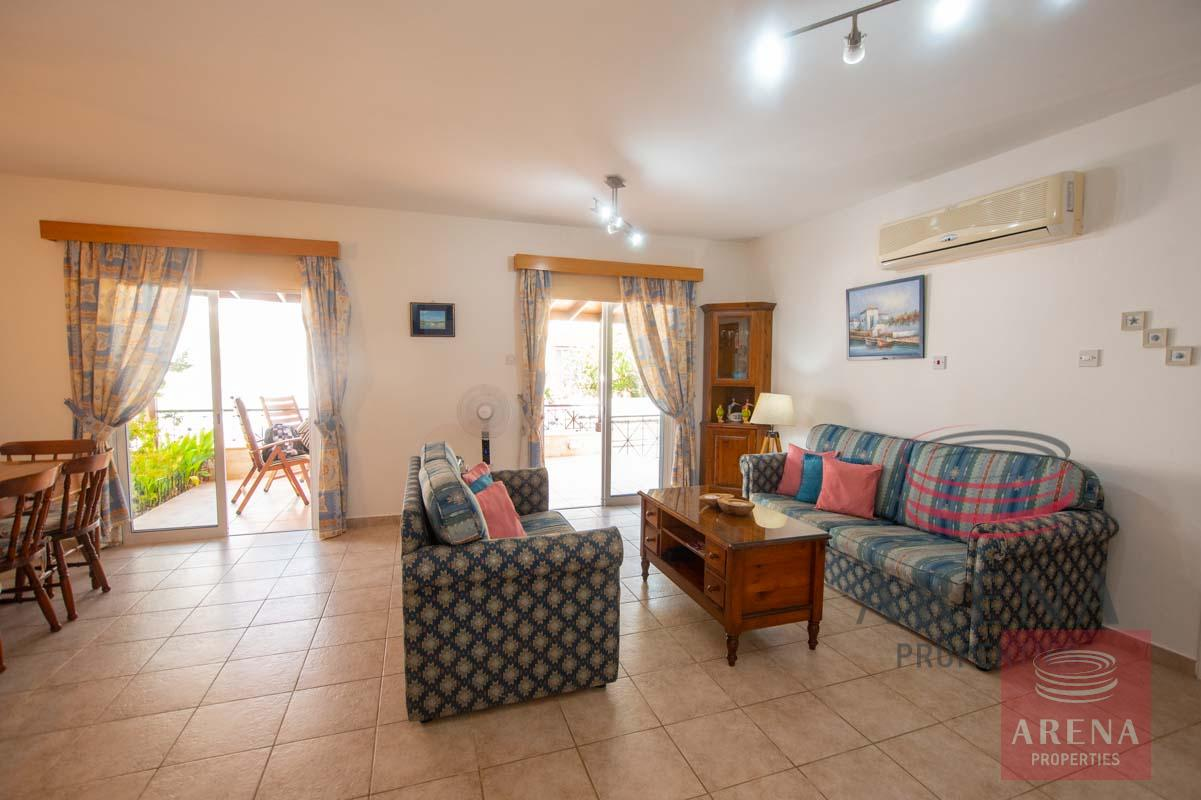 Link-Detached House in Kapparis to buy - sitting area