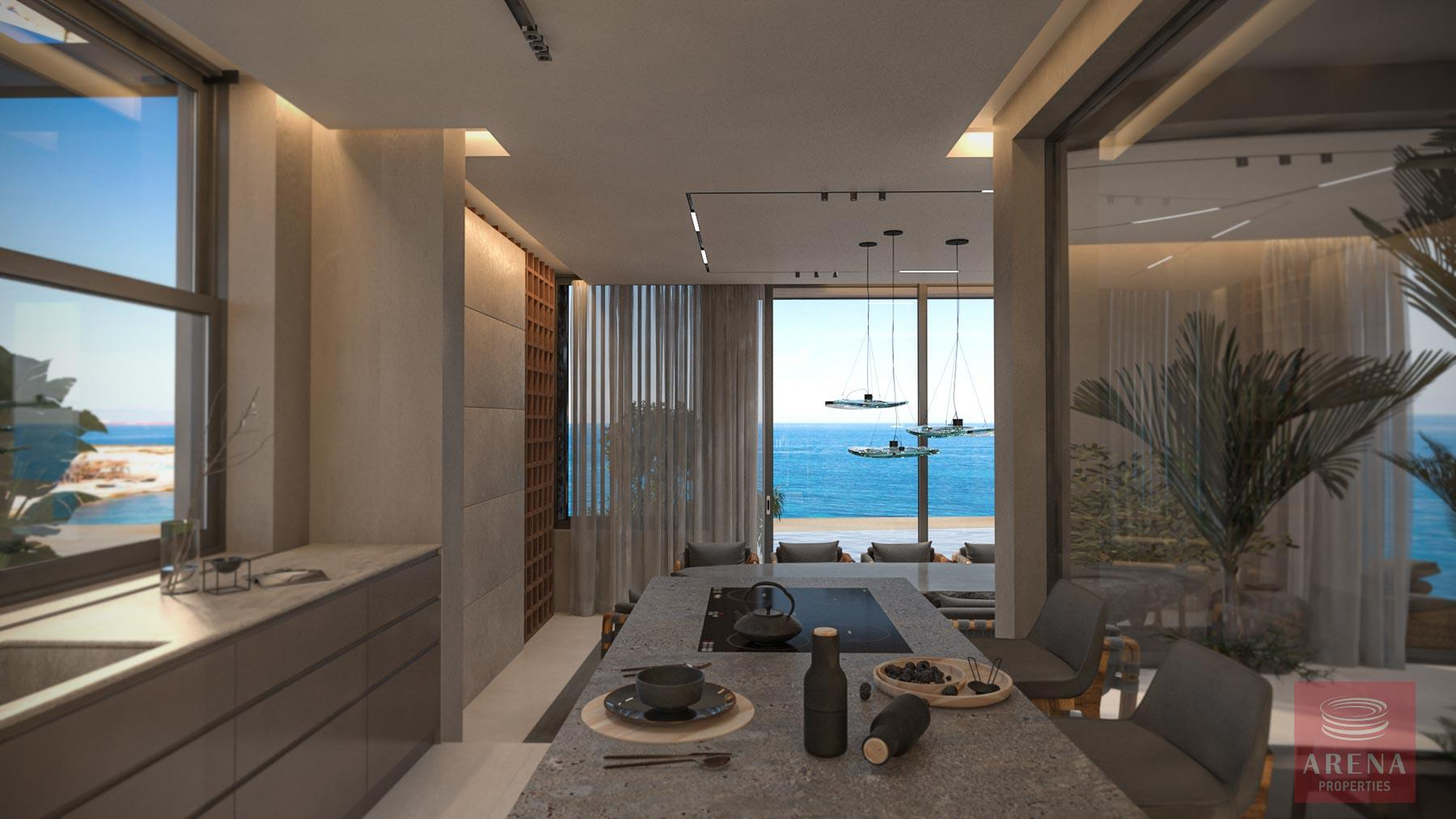 4 Bed Seafron Villa in Kapparis - kitchen