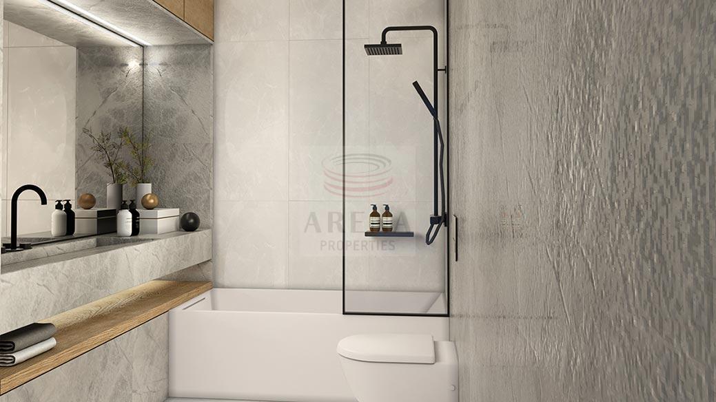 New 3 bed apt in Larnaca -bathroom