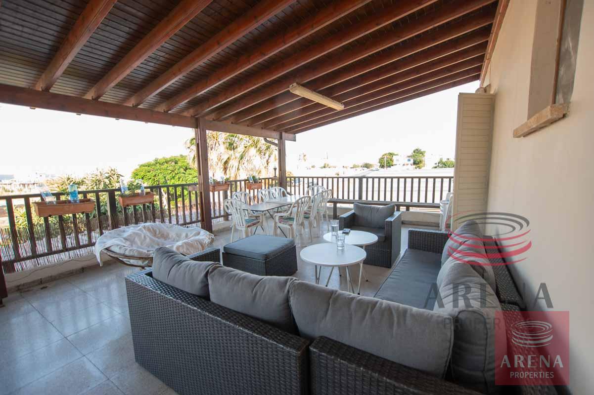 1st floor apt in Kapparis - veranda