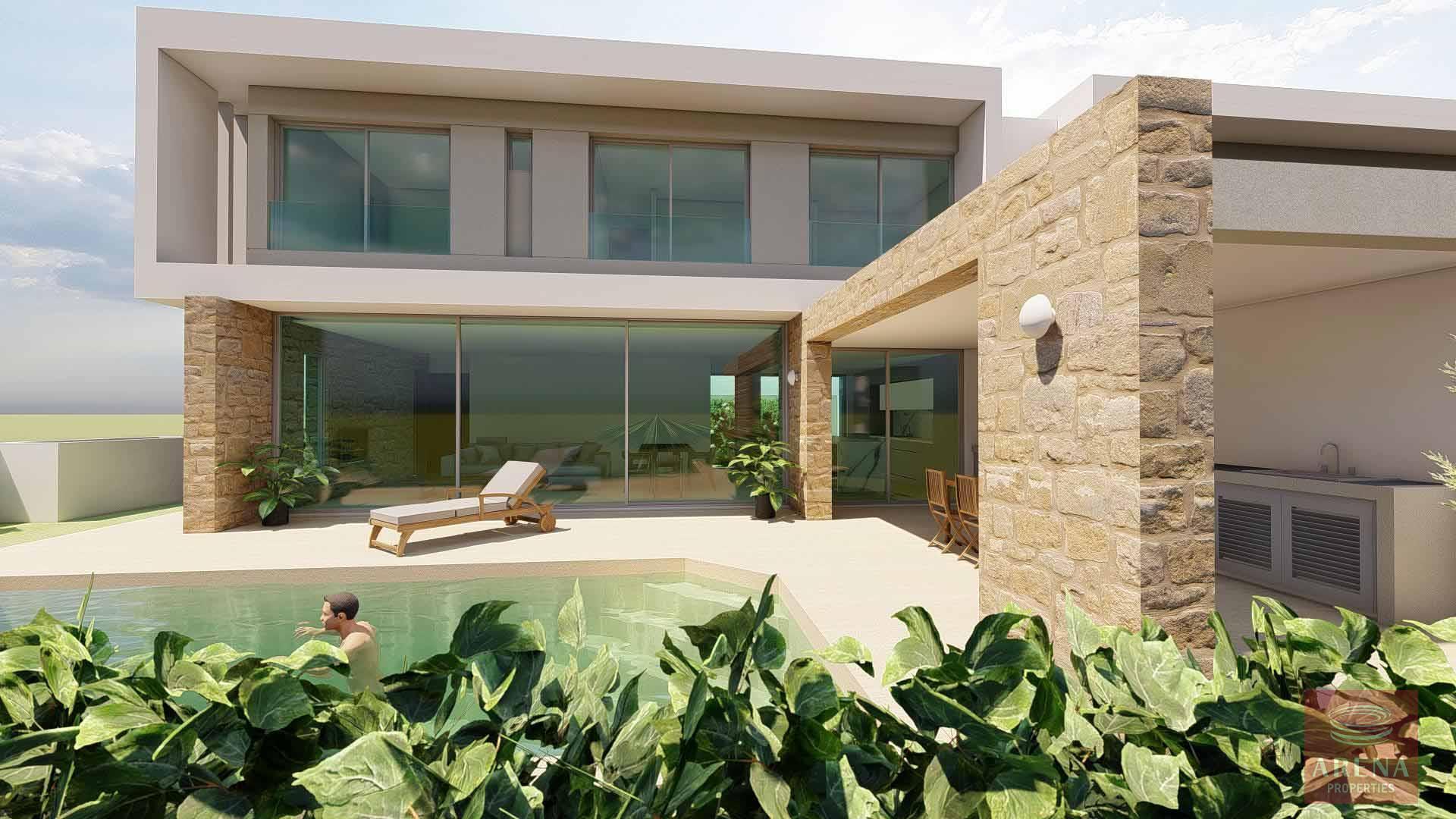 3 bed villa in oroklini for sale