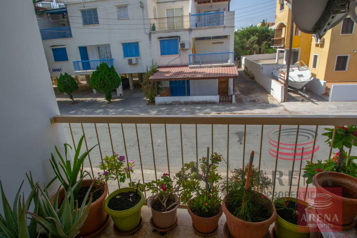 Flat in Kapparis - balcony