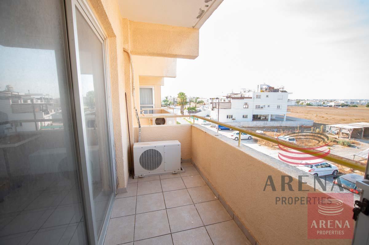Flat in Paralimni for sale - veranda