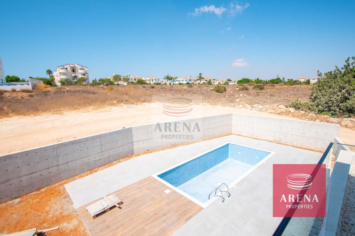 New Villa in Protaras - views from the bedroom