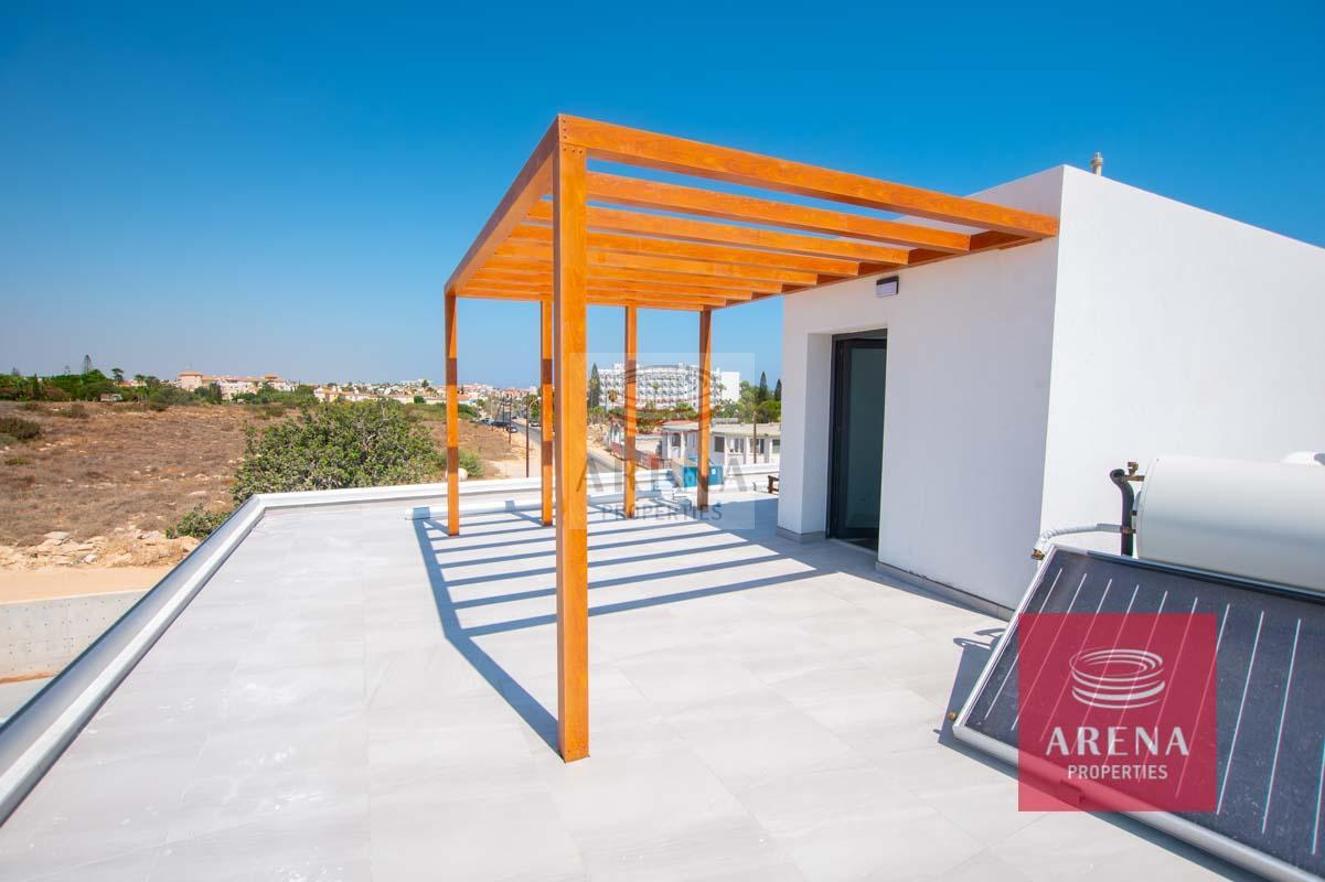 New Villa in Protaras - Roof garden