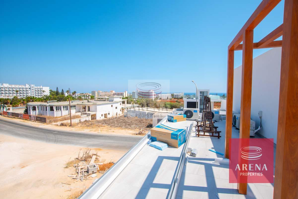 New Villa in Protaras for sale - roof garden