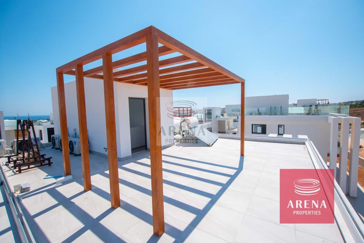 New Villa in Protaras to buy - roof garden