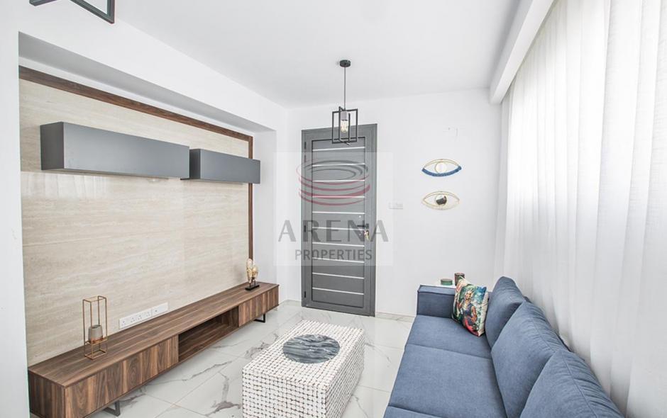 2 bed det villa in kapparis - sitting area