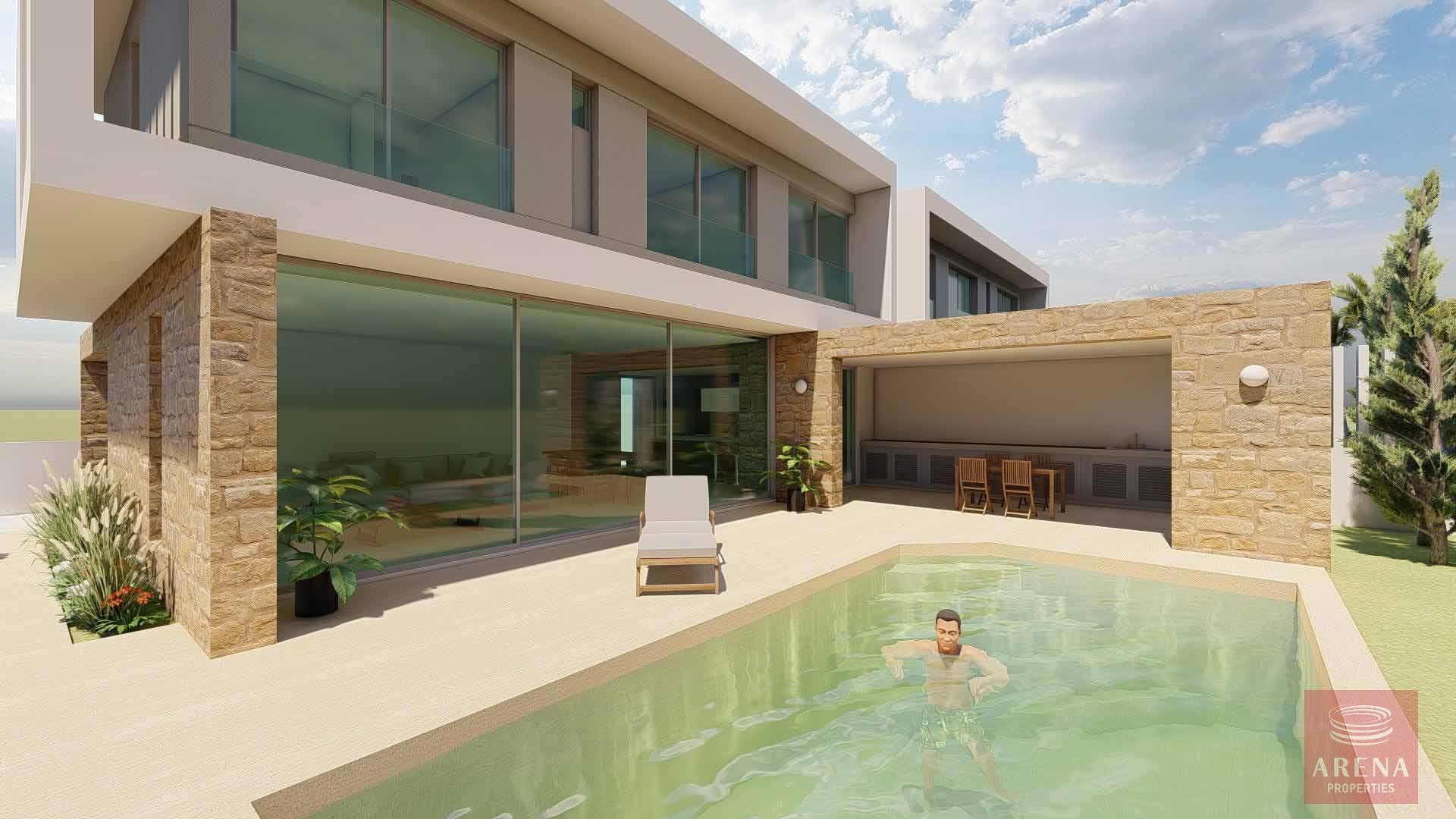 3 bed villa in oroklini to buy