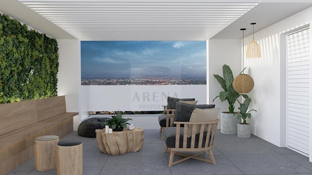 New 3 bed apt in Larnaca - roof garden