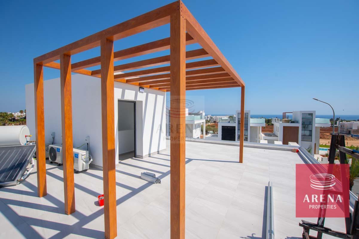 Modern Villa in Protaras - roof garden