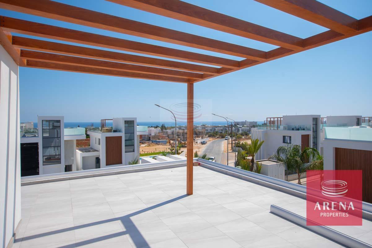 Modern Villa in Protaras for sale - roof garden