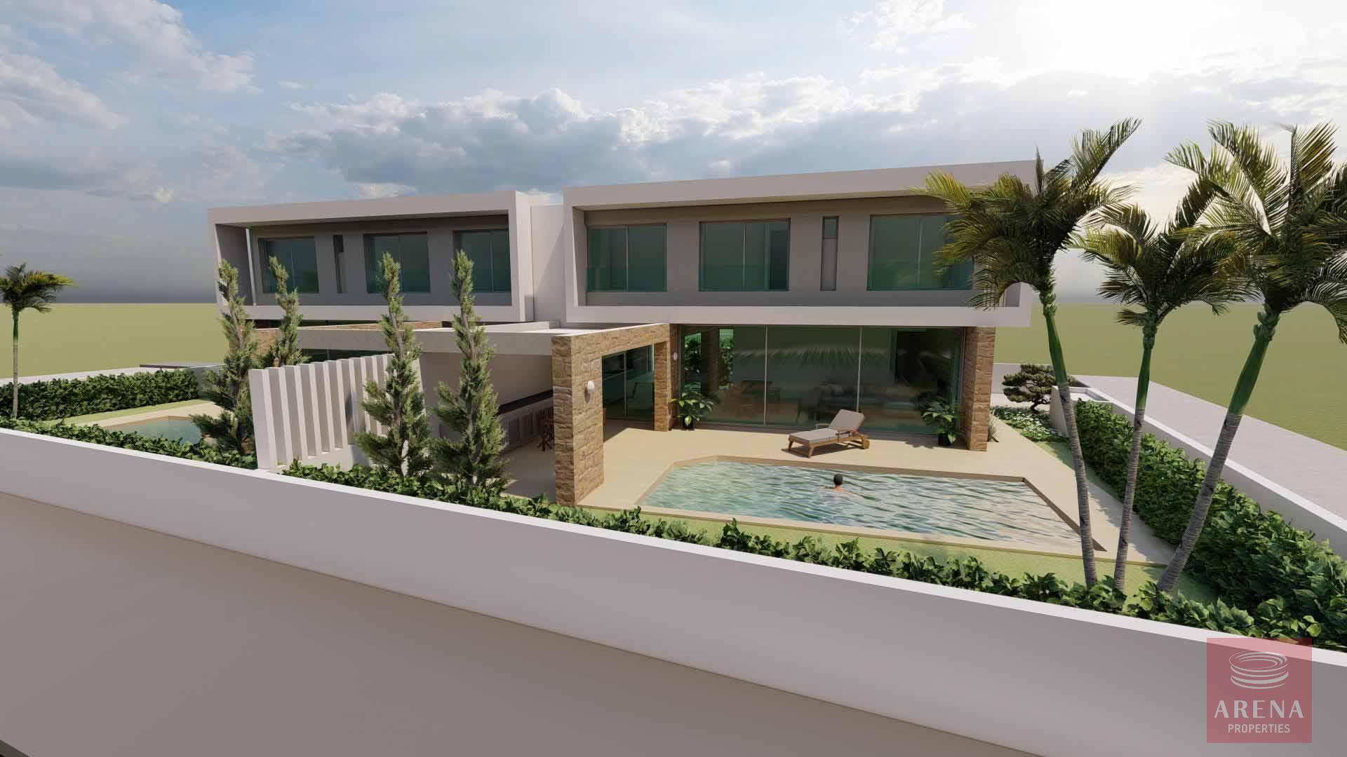 3 bed villa in oroklini new