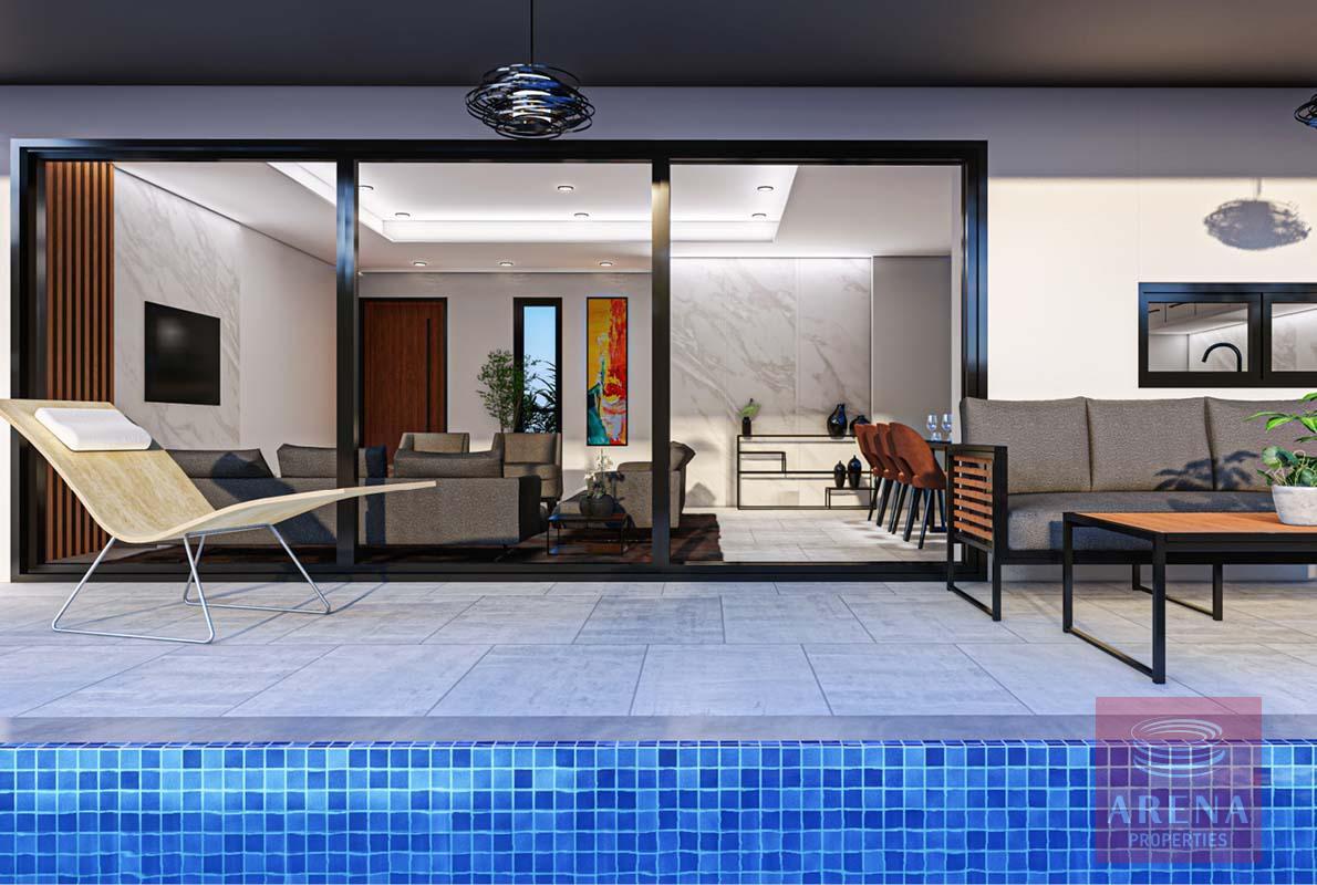 3 bed villa in Livadia - veranda