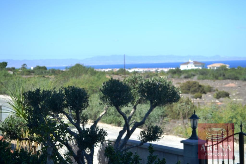 Villa in Protaras - sea view