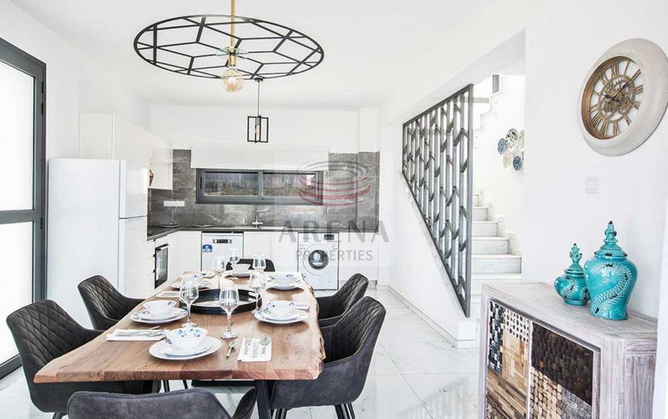 2 bed det villa in kapparis - kitchen
