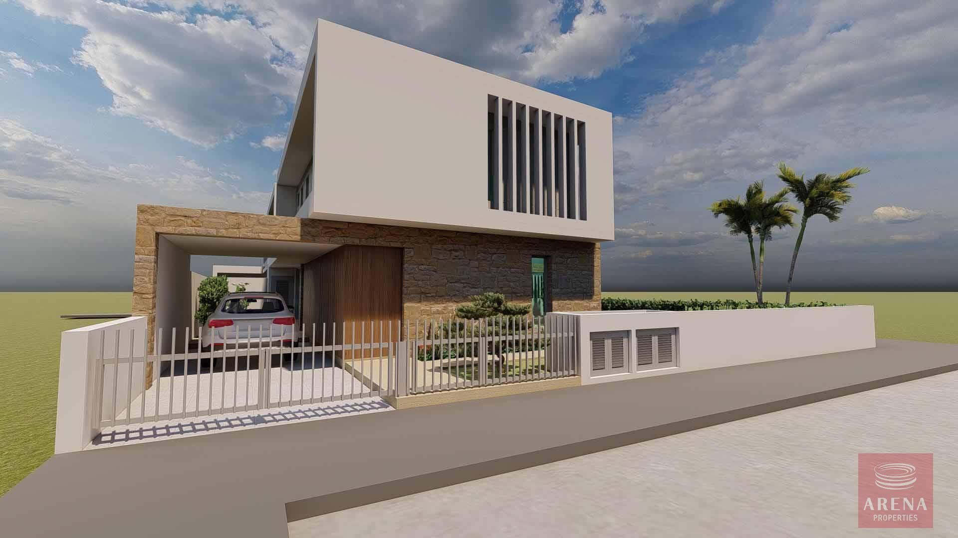 new 3 bed villa in oroklini