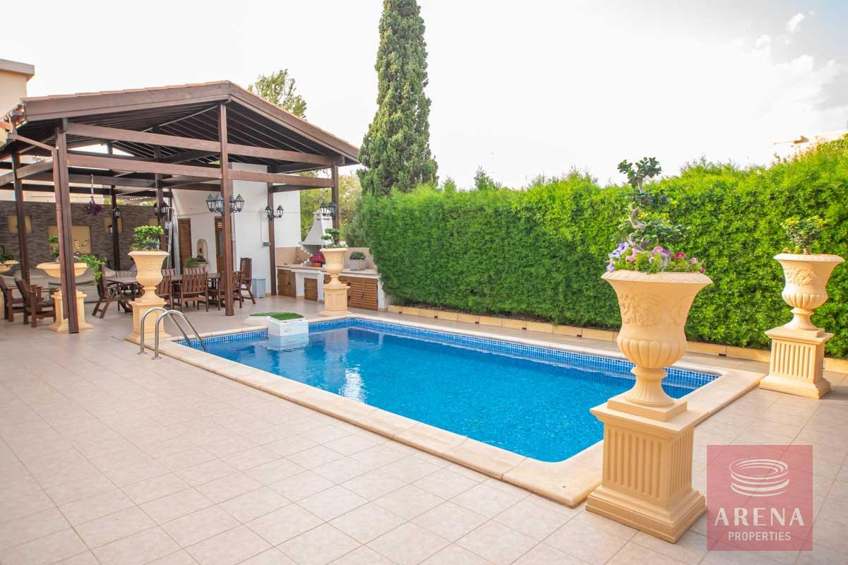 Luxury Villa in Paralimni for sale - pool