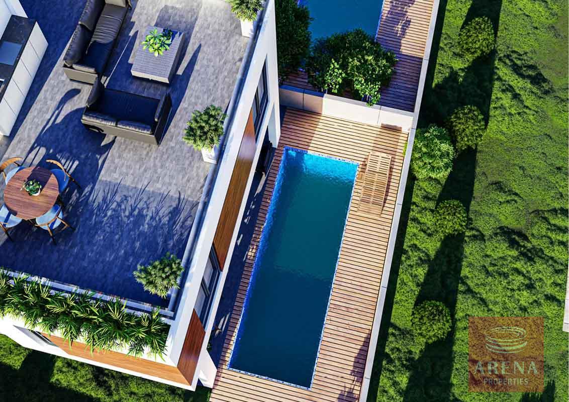 3 bed villa in Livadia - pool