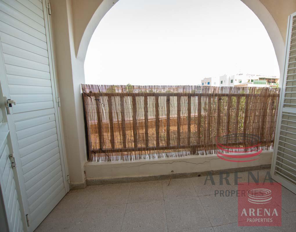 1st floor apt in Kapparis to buy - balcony