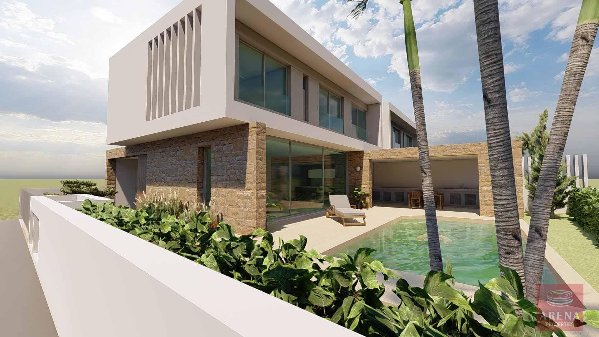 for sale 3 bed villa in oroklini