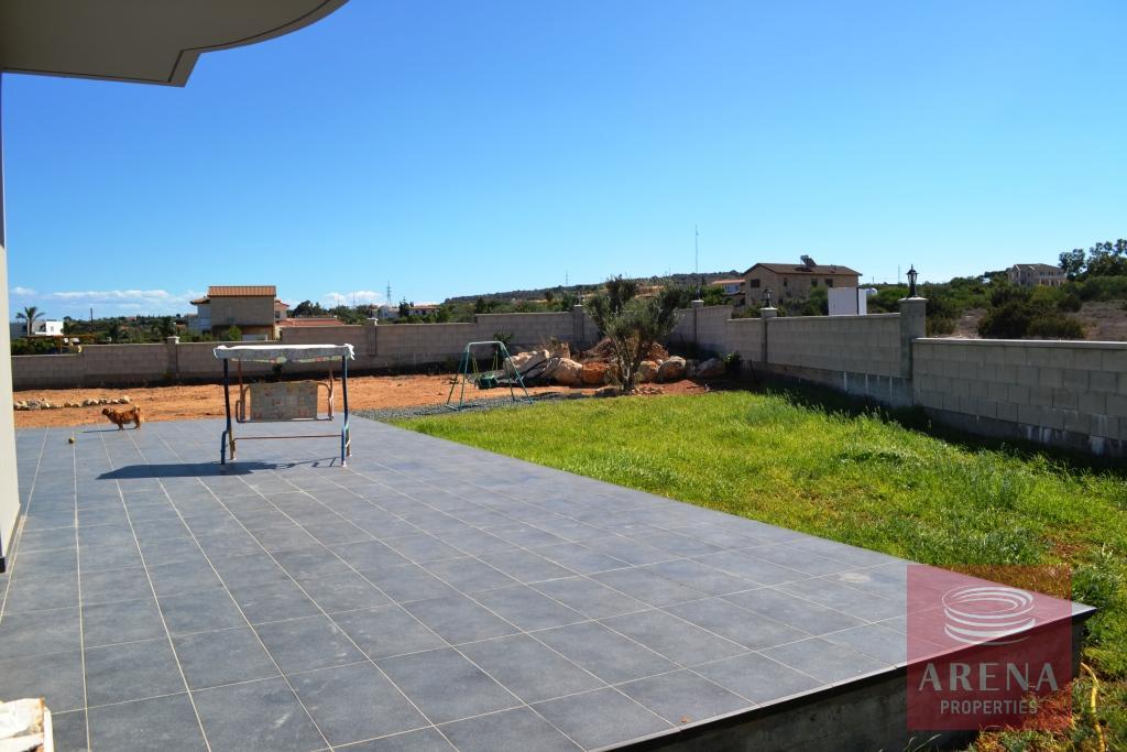 Villa in Protaras for sale - veranda