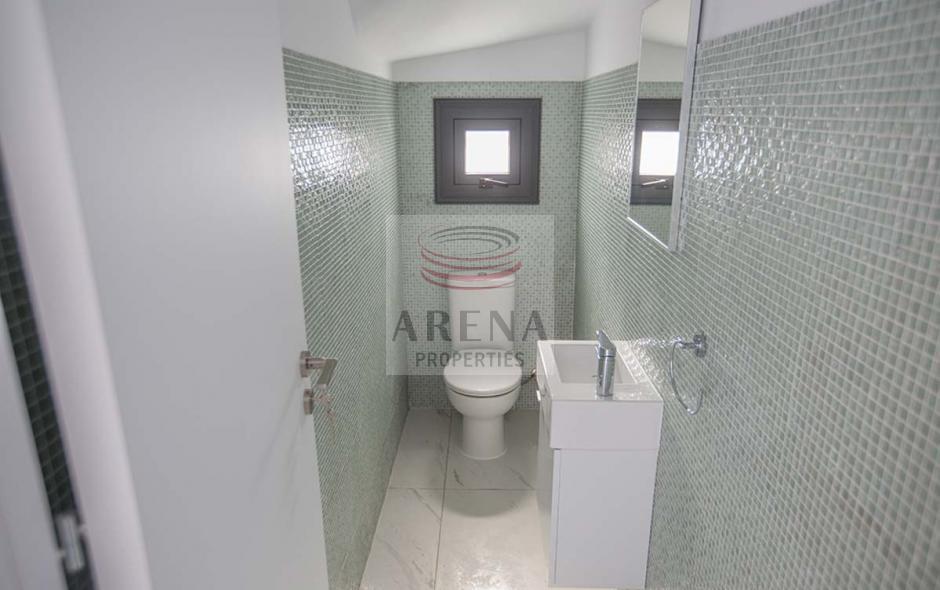 2 bed det villa in kapparis - guest wc