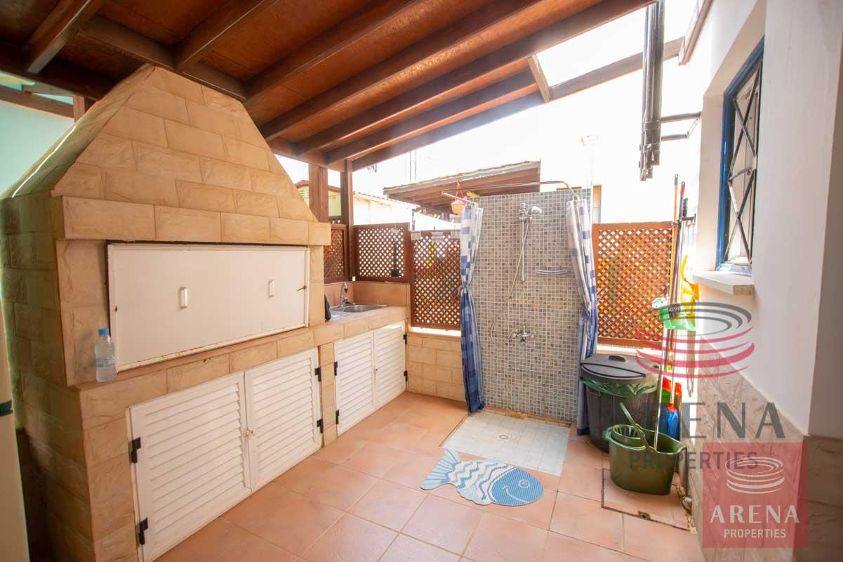 Link-Detached House in Kapparis - bbq area