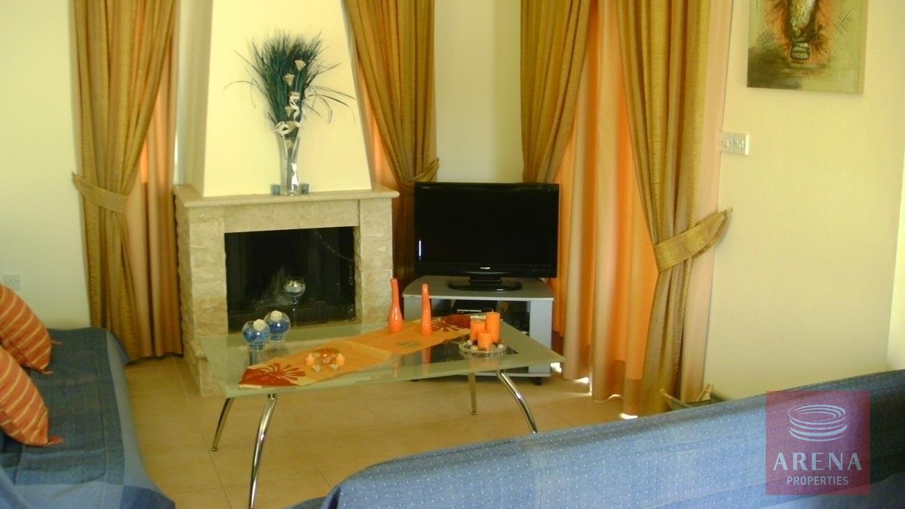 Villa in Kapparis for sale - sitting area