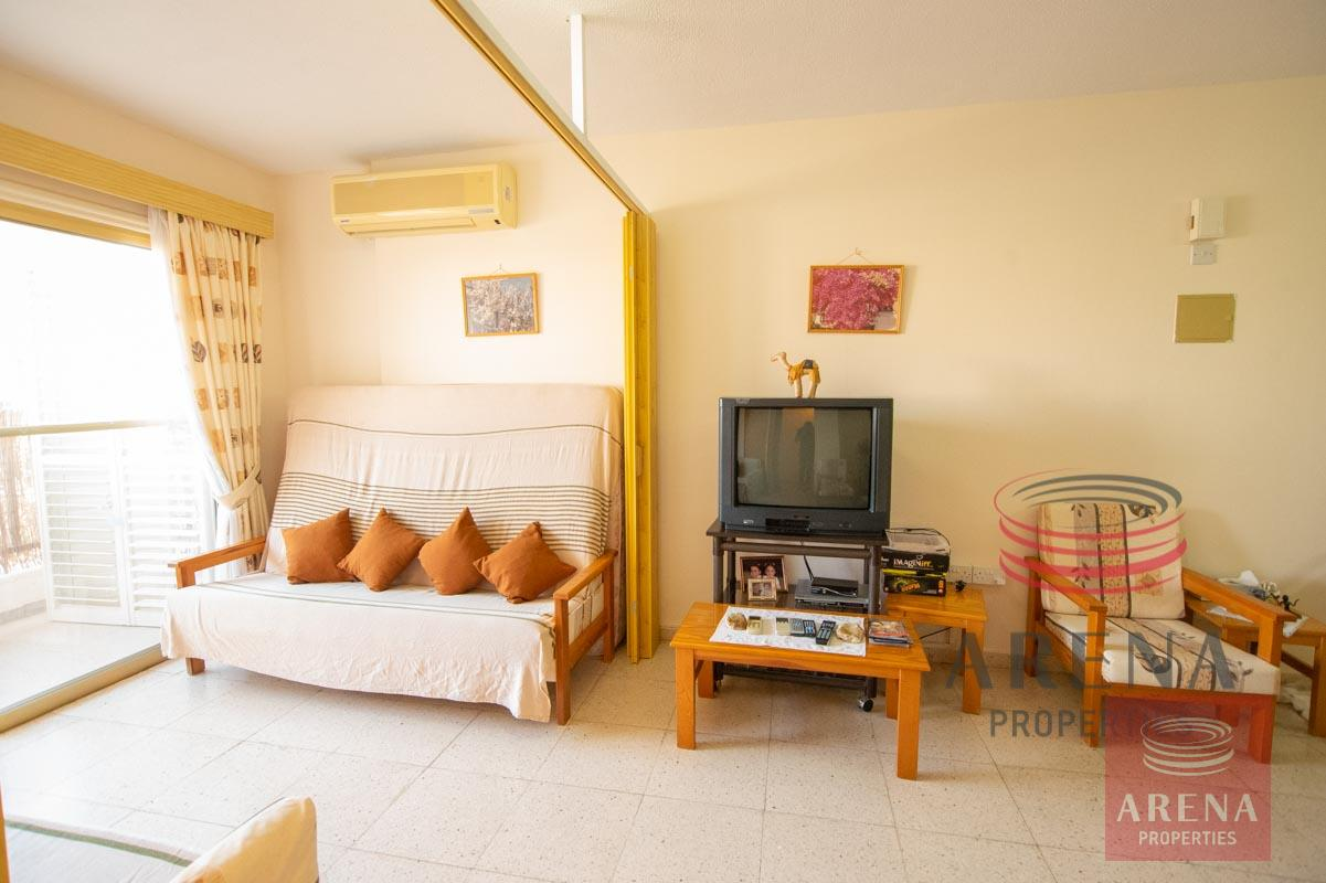 1st floor apt in Kapparis for sale - sitting area