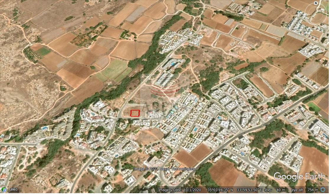 Plot in Kapparis area for sale