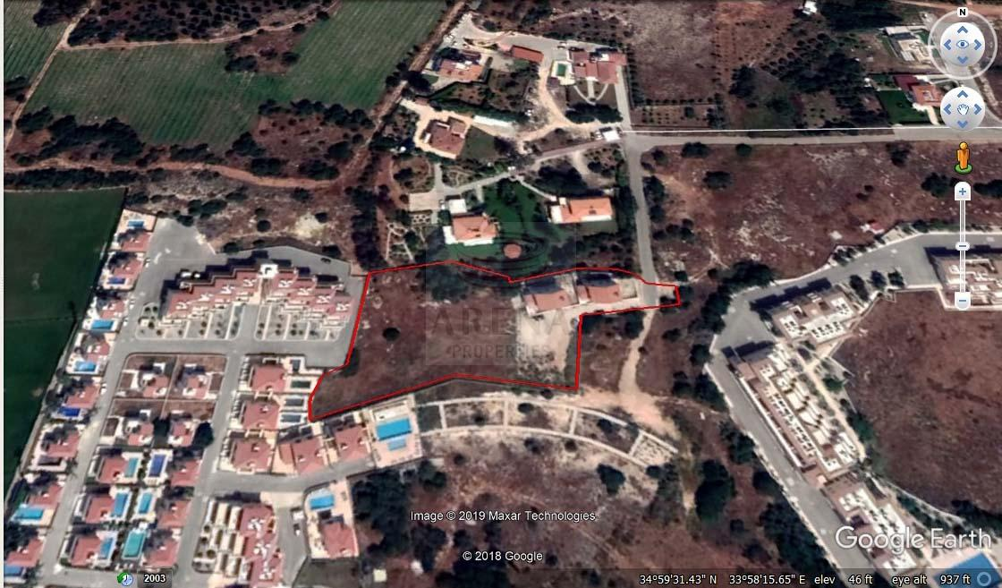Land and houses in Ayia Napa for sale