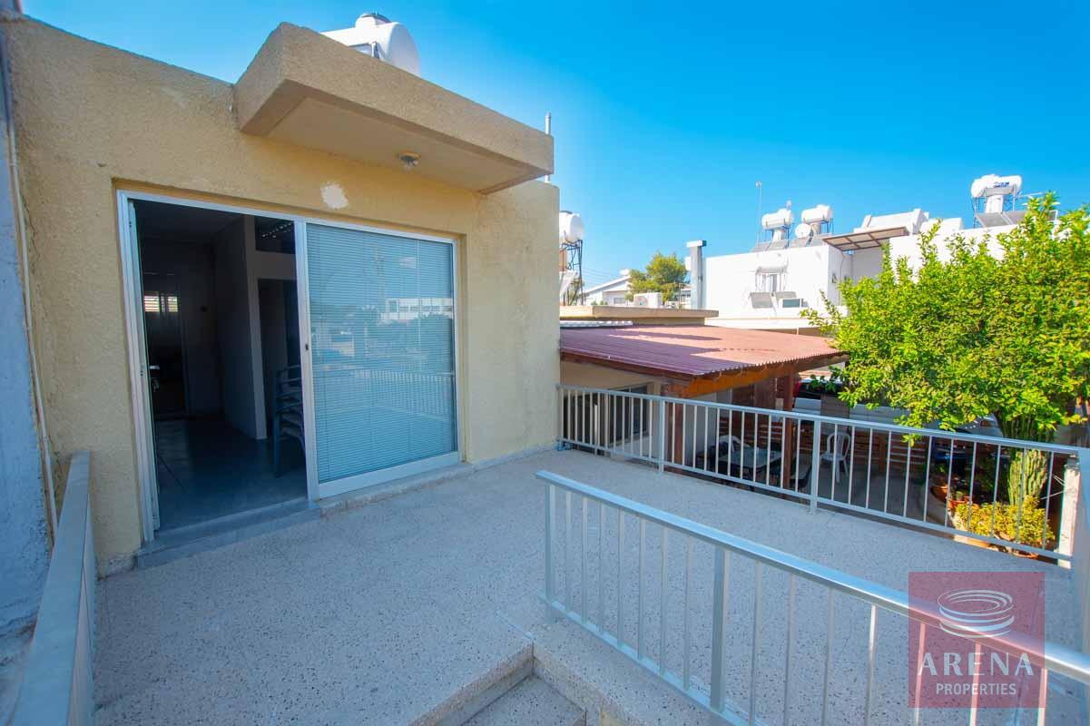 1 bed townhouse in paralimni - for rent - veranda