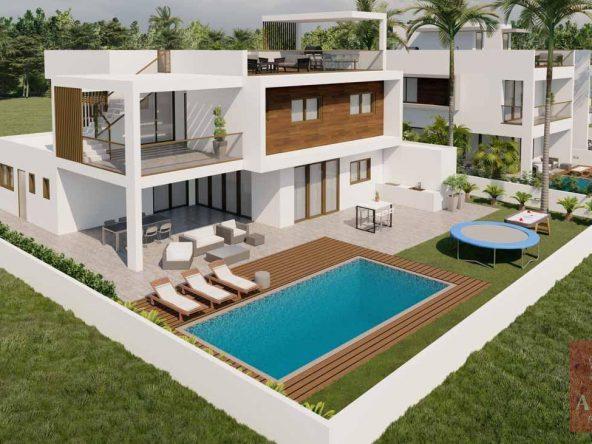 13 villa in Kiti 5210