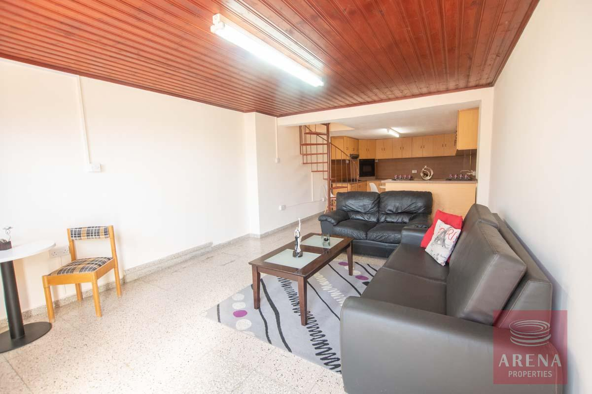 1 bed townhouse in paralimni for rent