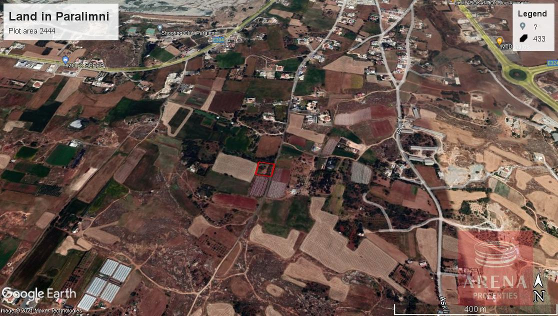 Land in Paralimni for sale