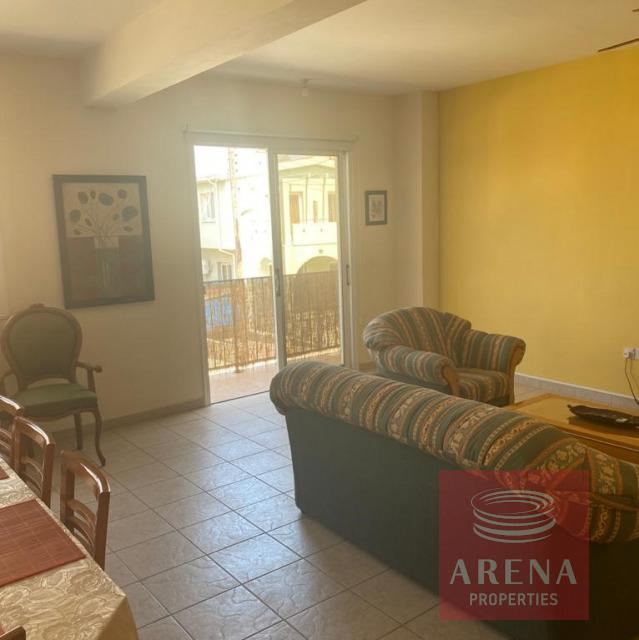 Apartment for rent in Derynia - living area