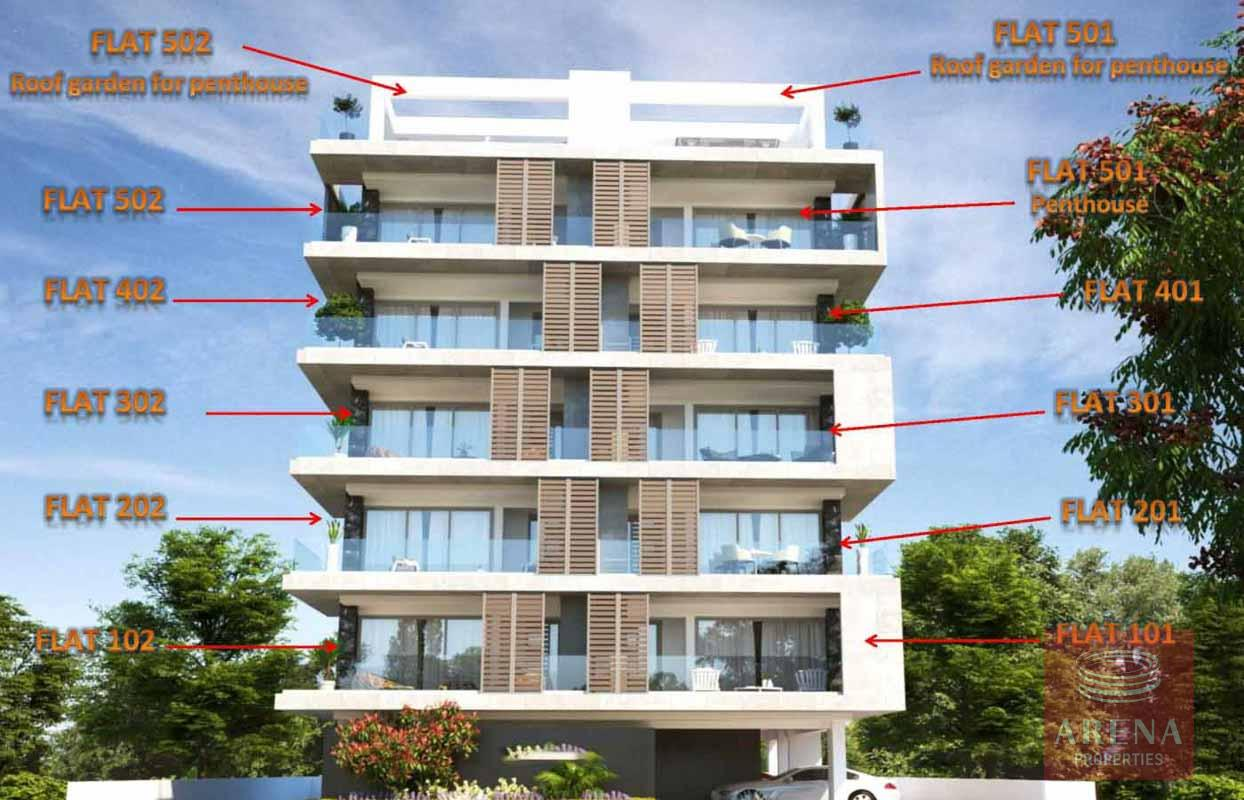2 Bed Apartment in Larnaca New to buy