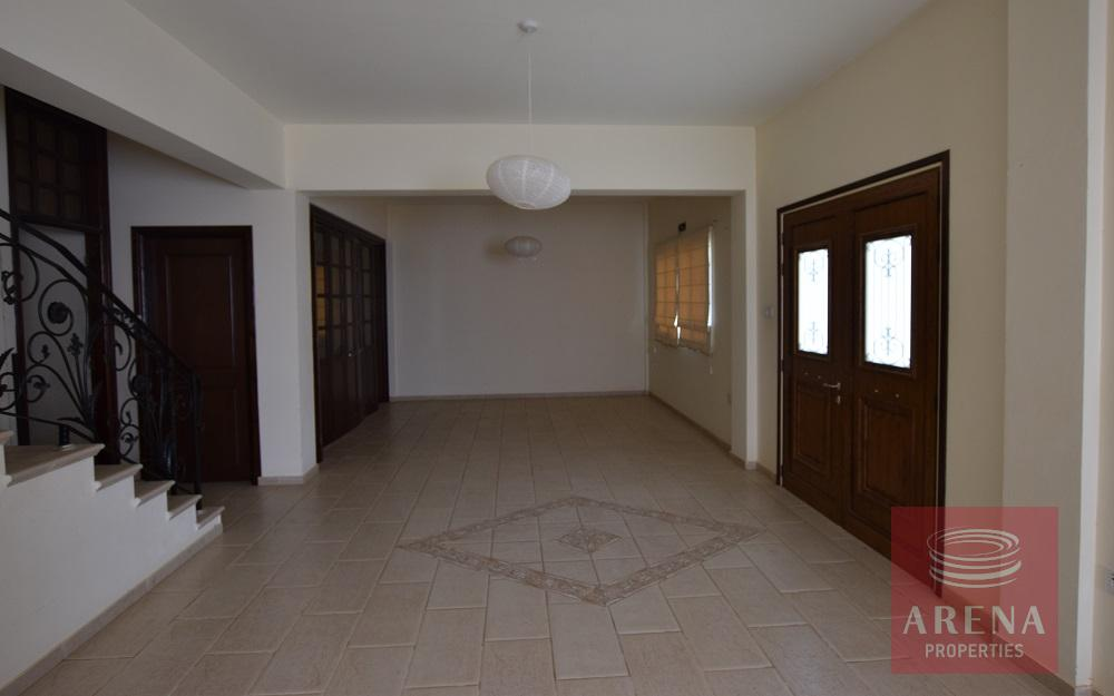 House in Liopetri - living area
